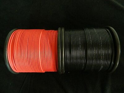 12 Gauge Wire Red & Black 50 Ft Each Primary Awg Stranded Copper Power Remote