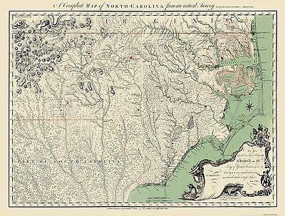 NORTH CAROLINA - Bayly 1770 - 30.31 x 23 - $36.95 | PicClick