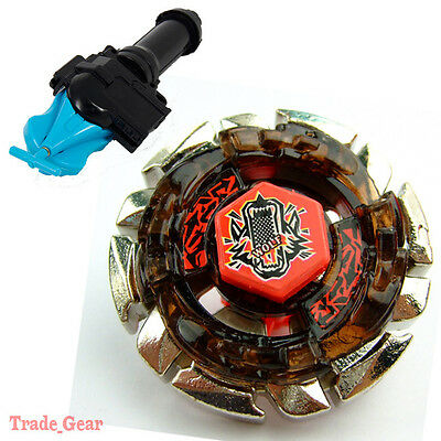 Dark Wolf DF145FS BB-29 BEYBLADE Masters Fusion Metal+GRIP+BLUE SPIN LAUNCHER