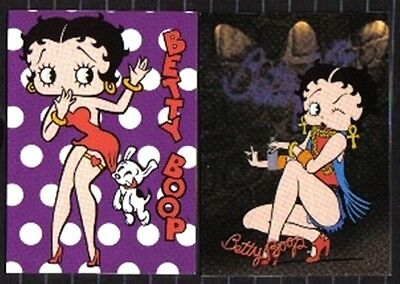 Set Of 2 Betty Boop Collectible Magnets Set #10 BB10
