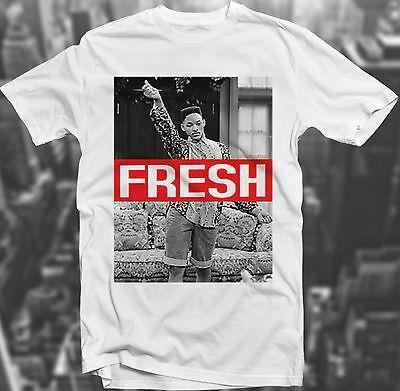 Fresh Dope Prince Swagg 90's Sk8r Hipster Will Smith Trill T-shirt