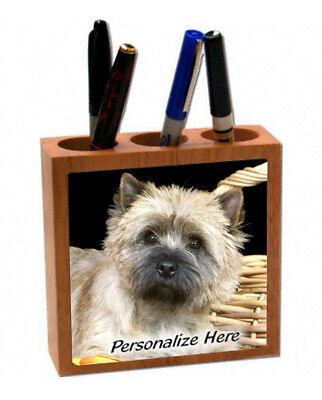 Cairn  Terrier  sandy color  Personalized  Pencil and Pen Holder