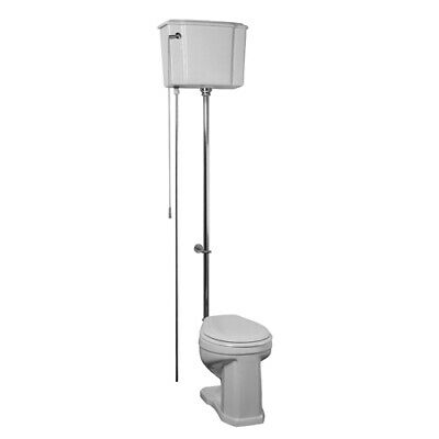 Barclay Victoria High Tank Pull Chain Toilet with Chrome Hardware