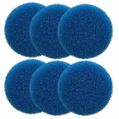 6 x Eheim Classic 2215 Coarse Foam External Filter Pads