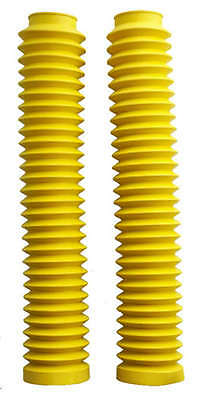Yellow Fork Gaiters for: Yamaha YZ400 77-80