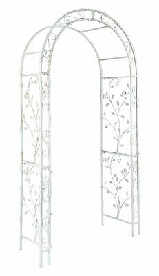Gardman English Rose Arch Metal Garden Archway