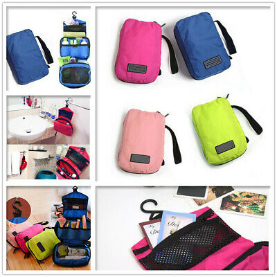 Travel Cosmetic Makeup Toiletry Purse Holder Beauty Wash Bag Organizer Storage