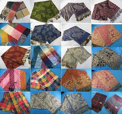 wholesale pashmina silk scarf 20 pcs shawl stole-FREE SHIPPING