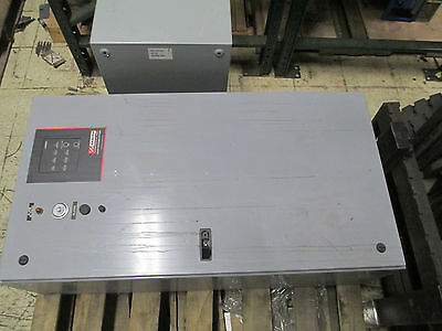 Zenith Transfer Switch ZTGK8EC-4, 80A 480V 3PH, Nema 1 Enclosure w/ Timer Used