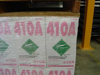R-410A refrigerant 25 lbs virgin tank brand new factory sealed cylinder freon