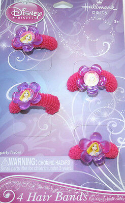TANGLED SPARKLE Princess ~ (4) Hairbands ~ Birthday Party Supplies Favors