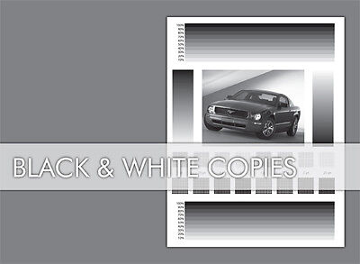 1000 Black & White Printing Flyers Free Shipping 8.5X11
