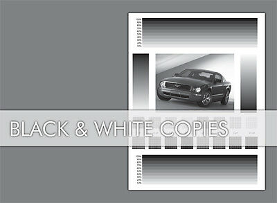 1000 Black & White Printing Flyers Free Shipping 5.5X8.5