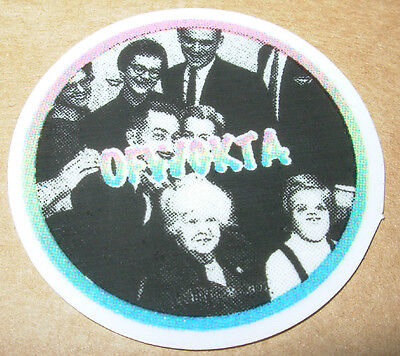 ODD FUTURE OFWGKTA Sticker CIRCLE BAND LOGO decal New TYLER THE CREATOR