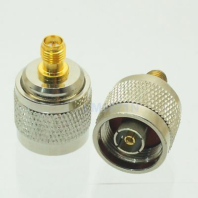 1pce Adapter RP.N jack male to RP.SMA female plug RF connector CISCO ANTENNA AP