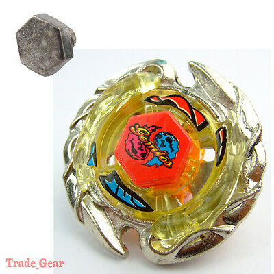 Killer / Evil Gemios BB-56 Fusion Masters Fight Beyblade+HEAVY METAL FACE BOLT