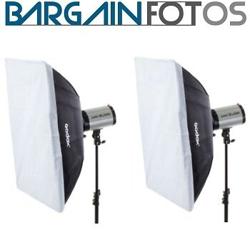 Kit 2 Ventanas Softbox rectangulares 40x60cm-ENVIO GRATIS