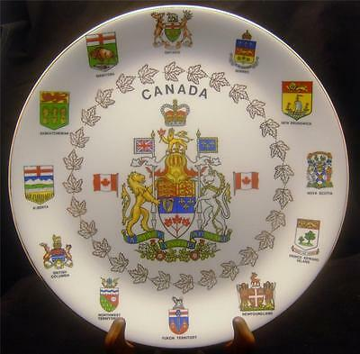 ALFRED MEAKIN CANADIAN TERRITORIES AND PROVINCES  COLLECTOR'S PLATE