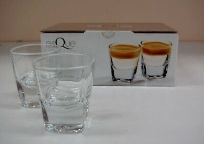 Esque Piazza Set Of Six Shot Glasses Glass Shooters