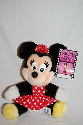 Vintage Disney Minnie Mouse Plush Disneyland Minnie Mouse Stuffed Animal