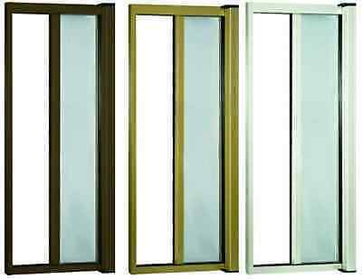 ZANZARIERA A RULLO IN KIT BRONZO 140X250H ORIZZONTALE FINESTRA PORTA riducibile