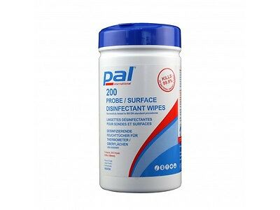 Probe / Surface Disinfectant Wipes (200 Wipes)