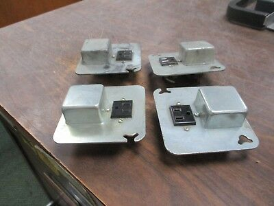 BUSS FUSETRON BOX COVER UNIT SRY **Lot of 4** Used
