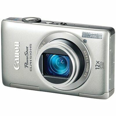 Canon PowerShot ELPH 510 HS 12.1 MP CMOS Digital Camera with Full HD Video and
