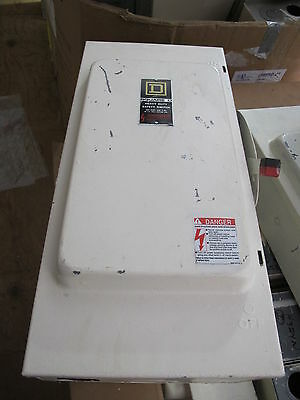 Square D H324N 200 Amp, 240 Volt, Fusible NEMA 1 Disconnect, E Series- PAINTED