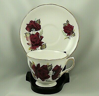 Royal Vale ~ Bone China ~ Made in England ~ Cup & Saucer Set