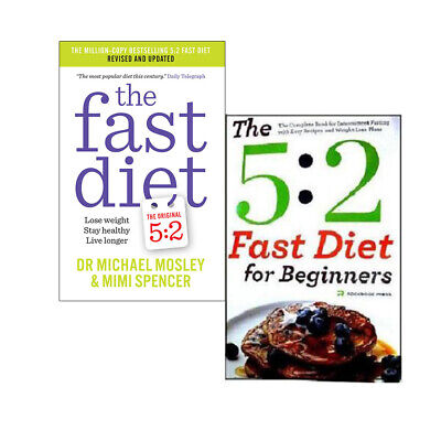 The Fast Diet Collection 2 Books Set, (The Fast Diet & The 5:2 fast diet for be)