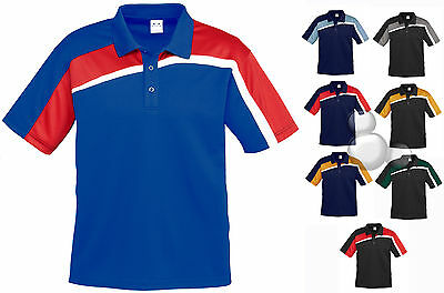 Mens Contrast Polo Shirt Size S M L XL 2XL 3XL 5XL Top New!