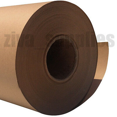 BROWN KRAFT WRAPPING PAPER~500mm Roll~50/100/225m Heavy Duty Strong Parcel