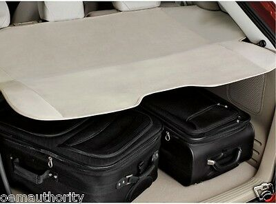 OEM NEW 2009-2014 Ford Edge Rear Cargo Cover - EBONY BLACK Privacy Shade, MKX
