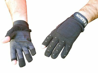 Marine Sailing Yachting Gloves For Boats - Size Xl - 2 Fingers Cut - Five Oceans