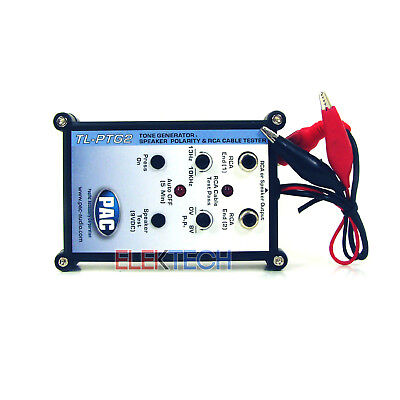 PAC TL-PTG2 Car Audio Tone Generator Speaker Polarity and RCA Cable Tester
