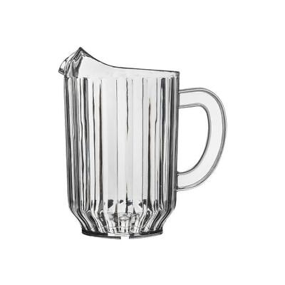 6x Water Jug 1.8L Clear Pitcher High Quality SAN Plastic Beer Soft Drink NEW