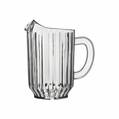 12x Water Jug 1.8L Clear Pitcher High Quality SAN Plastic Beer Soft Drink NEW
