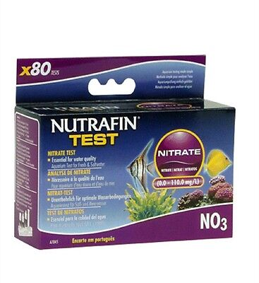 Nutrafin Hagen Nitrate No3 Fresh/saltwater Test Kit