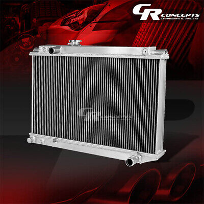 Tri Core Full Aluminum Racing 3-Row Radiator 86-92 Toyota Supra Mk3 7M-Gte/ge Mt