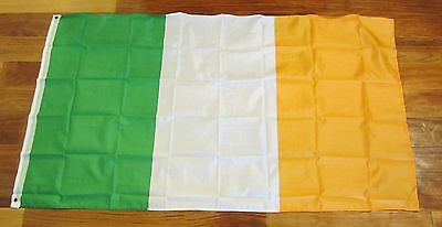 2 Ireland Flags 3'x5' Eire Erin Irish Pride Banner Republic Of Ireland 3 By 5