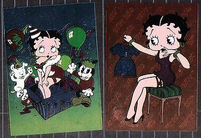 Set Of 2 Betty Boop Collectable Magnets Set #53 BB53