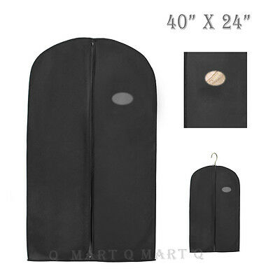 """New Quality Garment Bag for Suit,Dress,Jacket / Storage,Cover,Travel C-40""""x24"""""""