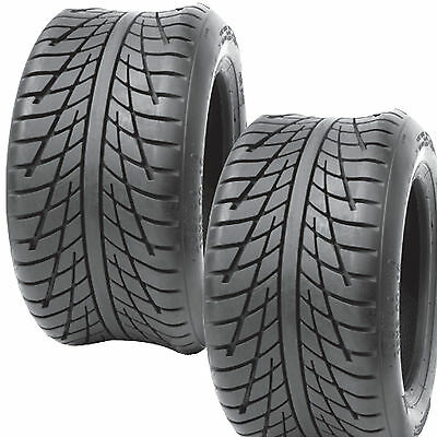 2) 205/50-10 GOLF CART TIRES 4ply DOT Legal Journey P820 rated for 81 mph