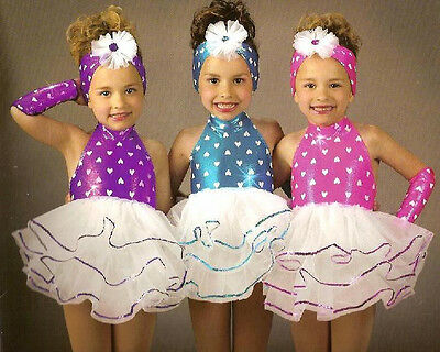 Sweetheart Ballet Tutu with Headdress Dance Costume Child Sizes Clearance