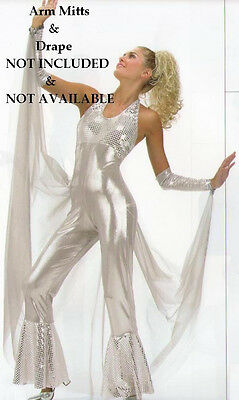 Dancing Queen Disco Cher Dance Halloween Costume Child Large, Adult Small