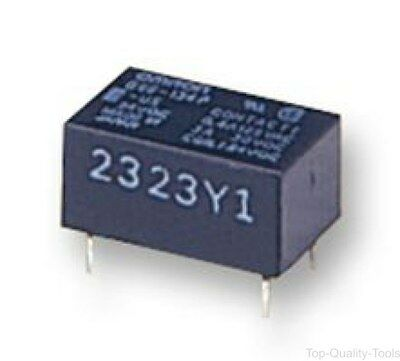 RELAY, SEALED, SPDT, LATCHING, 3A, 24V, Part # G6EU-134P-US 24DC