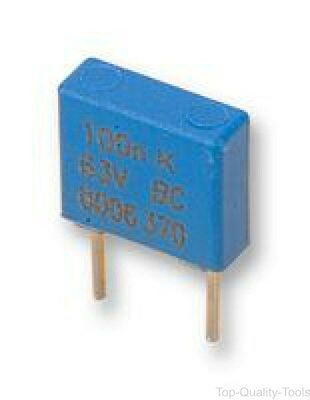 Film Capacitor, 0.033 µF, 400 V, PET (Polyester), ± 10%, MKT370 Series