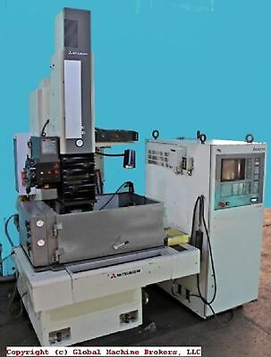 MITSUBISHI M35K DIE-SINKING EDM with C4 CONTROL SYSTEM and G35 POWER SUPPLY
