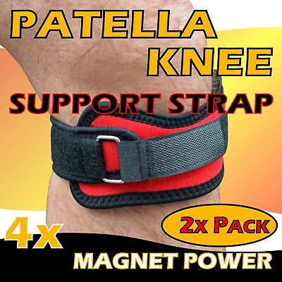 **2x** Knee Patella Support Strap Brace Pad Pain Relief *Sports* Injury Therapy